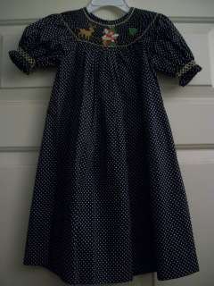 NEW MOM & ME SIZE 5 SMOCKED BISHOP DRESS HEIRLOOM BOUTIQUE