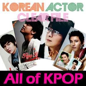 KOREAN ACTOR Clear File   RAIN/ LEE MIN HO/ LEE BYUNG HUN/ HYUN BIN