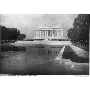 Lincoln Memorial,Washington,DC,Henry Bacon,architect Home & Kitchen