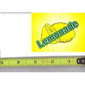 Medium Square Size Generic Lemonade LOGO Soda Vending Machine
