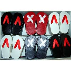 Cutie Shoe Shape Ring Gift Box / Assorted Color   24 Boxes