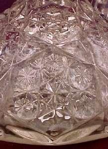EAPG Antique BROKEN STAR MOLD BLOWN CRUET Pattern Help