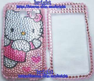 Hello kitty Bling Case For Verizon LG Vortex VS660 #8
