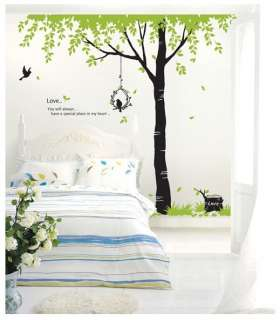 big tree birds tgwst 09 actual size w 106 3 inch x h 90 55 inch 270 cm