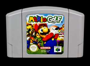 Nintendo 64 Spiel MARIO GOLF   N64 0045496870362