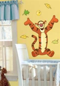 Tigger Giant Wall Decal Sticker Nursery Decor Winnie