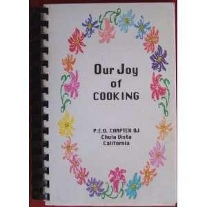 of Cooking Cookbook P.E.O. Chapter OJ Chula Vista California Books