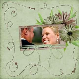 WEDDING ALBUM PHOTOSHOP PSD TEMPLATES on 7 DVDs