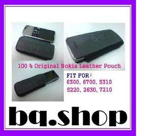 Original Genuine Nokia Leather Case Pouch Fit for 6700