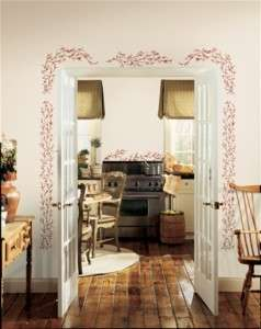 Berry Vine Giant Wall Decals Stickers Decor Doorway