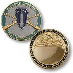 US Army Infantry Fort Benning GA Challenge Coin