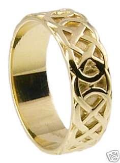 585 Gold Silber 925 Herren Irisch Keltisch Ring neu