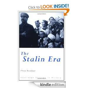 The Stalin Era (Routledge Sources in History) Philip Boobbyer