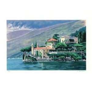 Lake Como by Robert Schaar, 26x21: Home & Kitchen