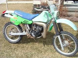 1987 Kawasaki KDX200 Front Wheel Tire Rim   Image 05
