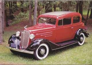 1934 Chevrolet Master town sedan (DS)