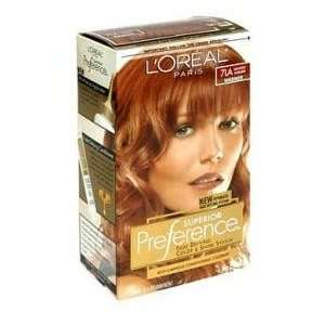 Loreal Superior Preference #7LA (Warmer) Lightest Auburn KIT Beauty