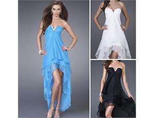 Womens Sexy Prom Ball Evening Cocktail Dress wedding Gown +Long