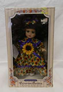 Collection Sunflower Melissa Jane Porcelain Doll 040686800402