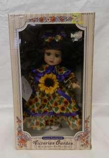 Collection Sunflower Melissa Jane Porcelain Doll 040686800402 |