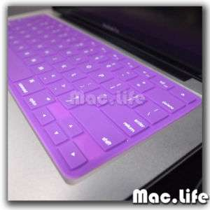 SL PURPLE Keyboard Cover Skin for NEW Macbook Pro 13 15