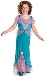 Ariel Little Mermaid Disney Princess Cute Dress Up Girls Halloween