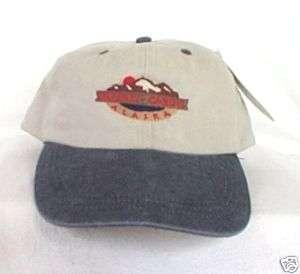 DENALI NATIONAL PARK CABINS ALASKA* Baseball cap hat