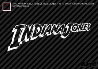 Indiana Jones Die Cut Decals