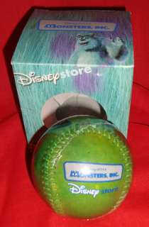 figure mike wazowski baseball year made by disney store size