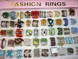 bulk lots 50PCS mixed bead natural stone Multi purpose ladys