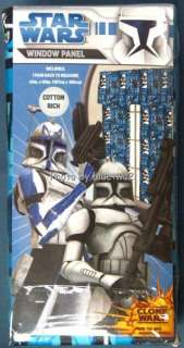 Star Wars Clone Comforter Twin Sheets Curtain Set Complete 5 piece
