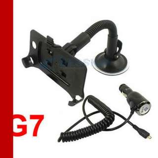Car Windscreen Mount holder + Charger For HTC Desire G7