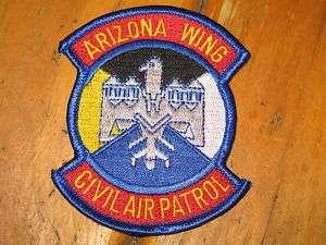Civil Air Patrol Wing Patches Arizona