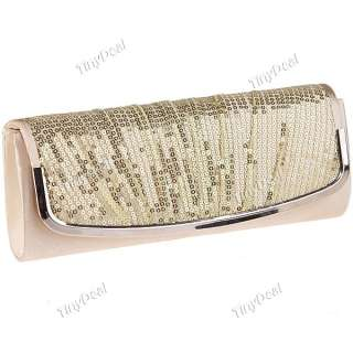 Grey Black Champagne Silver Wedding Evening Cocktail Party Clutch Bag