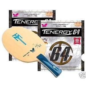 BUTTERFLY Tischtennisschläger Timo Boll ALC + zwei Tenergy 64