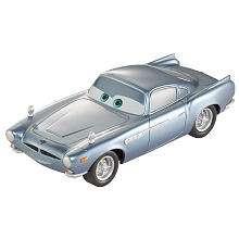 Disney Pixar Cars 2 Pullback Racer   Finn McMissile   Mattel 1001134