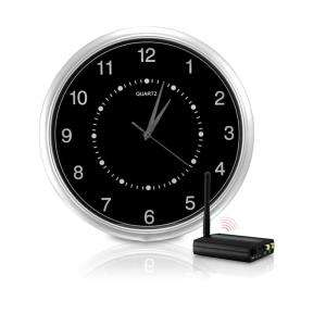 Free Wireless Wall clock Hidden Camera Kit ClockCam