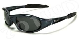 New Mens Xloop POLARIZED Fishing Motorcycle Sunglasses Black Blue