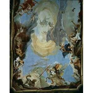 Kunstreproduktion Giovanni Battista Tiepolo Die Macht der