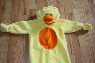 First Moments Duck infant Halloween Costume 6 9 months