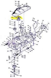 Images on tractor engine parts