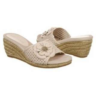 Womens AK Anne Klein Philomena Ivory Leather Shoes