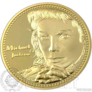 Michael Jackson Münze Goldmünze Gold *Rarität* 999 verg