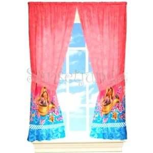 Verföhnt Gardine 104x160cm Kinderzimmer Rapunzel Tangled Vorhang 2tlg
