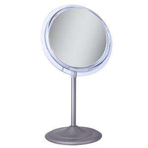 Zadro Surround Light 5X Vanity Mirror in Satin Nickel SA45 at The Home
