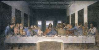 Leonardo Da Vinci   Das Letzte Abendmahl Poster #47636