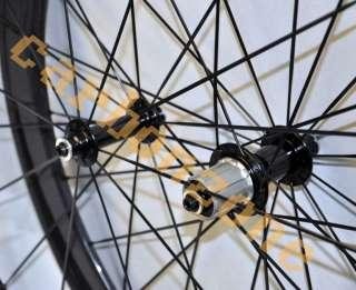 36+56mm 700C full Carbon Road&TT bike Tubular Wheels/Wheelsets
