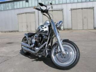Harley Davidson Fatboy, Fat Boy Softail Custom FLSTF 99 Evo TOP in