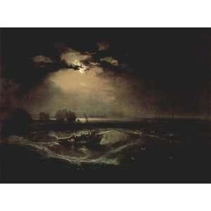 Kunstdruck William Turner Romantik Malerei Bild, hochwertige
