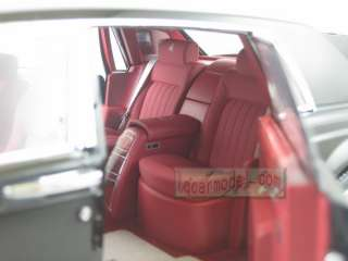 18 Rolls Royce Phantom black New in box Limited 999 pcs Metal Die